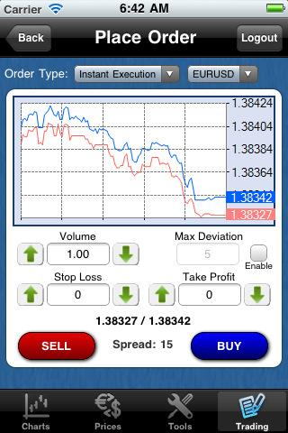 forex-metal app screenshot