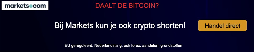 Markets bitcoin daling